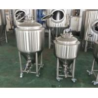 Quality 50L Homebrew Brewing System , Brewhouse Beer Brewing Equipment Fermentation Tank for sale