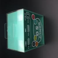 Buy China small clear PVC boxes with hanger wholesale plastic gift box at wholesale prices