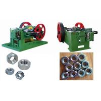Quality High Speed Screw / Bolt Nut Making Machine , 50-160 Pcs/Min Productivity for sale