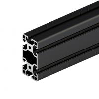China 6063 Black Anodized High Quality Aluminium Alloy Extrusion Factory Supply Industrial Heat Sink on sale