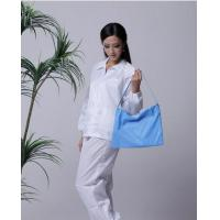 Quality 5mm strip cleanroom lint free washable anti static ESD jacket and pants for sale