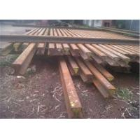Quality Super Durability Crane Rail Sections , Low Height Crane Railway Track Section for sale