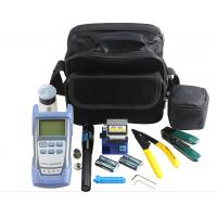 Quality FTTH Fiber Optic Tool Kit , Fiber Testing Tools With OPM VFL And Fiber Cleaver for sale