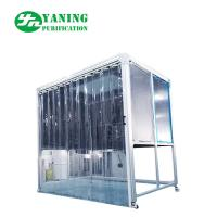 Quality PMMA Hardwall Pharmaceutical Weighing Booth With Anti - Static Curtain Door for sale