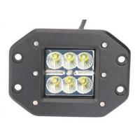 Quality 24W High Power Flush Mount Off Road Led Lights 1800 Lumen Flood / Spot Beam for sale