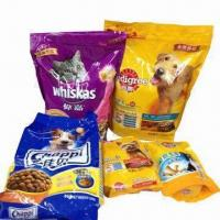 Quality PET Flexible Food Packaging/Pouch with Zipper, Laminated and Printed for sale