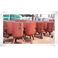 Quality Derusting Media Bead Blasting Equipment , Open Mobile Sandblasting Equipment for sale