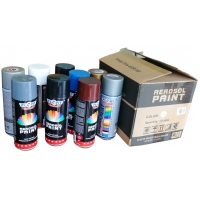Quality Waterproof 400ml all purpose spray paint Fast Drying Acrylic Paint for sale