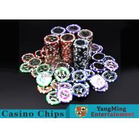 Quality Eco 12g Clay Poker Chips With Ultimate Sticker , 40mm Diameter for sale