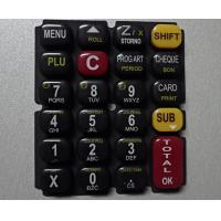 Quality Glossy Oil 3 Color Printing Silicone Rubber Mold For Keypad for sale