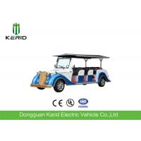 Quality Battery Operated Vintage Electric Car , 8 Seater Electric Passenger Vehicle With Sunshade for sale