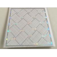 Quality 30cm * 7mm Decorative Tile Panels , Wall Plastic Panels For Living Room for sale
