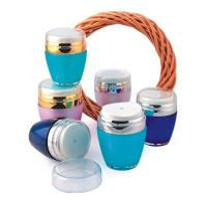Quality 30gr 50gr wholesale cosmetic plastic ailress jar for sale