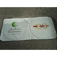 Quality Tyvek Car Sunshade/Front Car Sunshade with Colorful Printing for sale