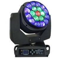 Quality DMX512 19x15W RGBW 4in1 LED Moving Head Light Show Lighting With 16/24 DMX CHS Channel for sale