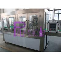 Quality Monoblock Full Automatic Water Bottling Machine 3-10L Bottle 3 In 1 8 Heads for sale