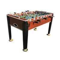 Professional 5 ft soccer game table wood color steel rod for Nfpa 72 99 table 7 3 1