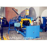 Buy Auto Duct Line Stainless Steel Flexible Spiral Cutting Machine Fully Auto Material Feeding at wholesale prices