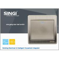 Quality Electrical light PC frame 1 gang doorbell wall switch for sale