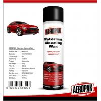 Buy Glossy Finish Car Interior Cleaning Products Spray Wax For Cockpit / Dashboard at wholesale prices