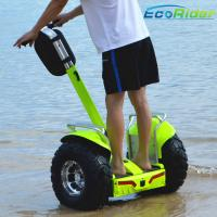 Quality Waterproof 2 Wheel Electric Scooter Outdoor 110mm Height CE Approval for sale