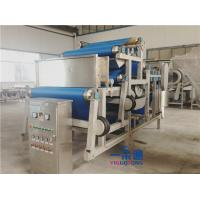 Quality Belt Type Industrial Juicer Machine / Fruit Juice Making Machine 10-20t/H Capacity for sale