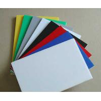 Quality SC Extruded Industrial Engineering Plastics , Assorted Colorful POM Sheet for sale