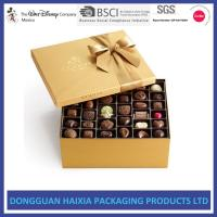 China Recyclable Gift Boxes For Chocolates , Chocolate Candy Gift Boxes Long Lifetime on sale