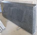 "Quality Blue pearl granite countertop,96-108x26x3/4"" prefabricated countertop for sale"