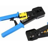 Quality CAT5E / CAT6 LAN Cable Accessories Shield / Unshield Crimping Tools Crimper for sale