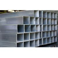 Buy Q195 / Q235 Galvanized Steel Square Tubing , ASTM A53 Hollow Section Square Steel Tube at wholesale prices