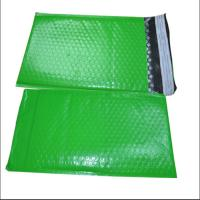 China Green Color Poly Bubble Mailers Size 1 Air Bubble Envelope Self Adhesive Seal on sale