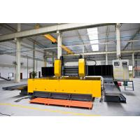 High Speed Double Spindle CNC Plate Drilling Milling Machine Gantry Movable Type Flexible