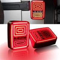 Quality Rear LED Tail Lights Brake Reverse Turn Singal Lamp for Jeep Wrangler JK 07-16 for sale