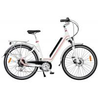 Buy cheap Ladies High End Electric Bike , Rear Wheel Motor And Pedal Assisted System from wholesalers