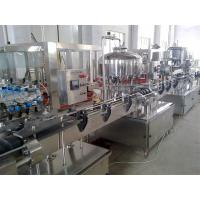 Quality Automated Water Bottling Production Line / Beverage Filling Line For PET Bottle for sale