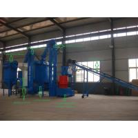 Quality 1T/H Biomass Pellet Making Machine Wood Pellet Production Line For Bamboo , Peanut Shell for sale
