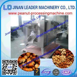 Quality High capacity peanut roasting machine nuts almond roaster for sale