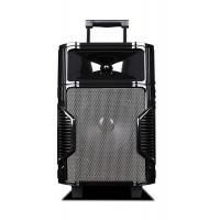 Quality Pro Audio Music Bluetooth Rechargeable Trolley Speaker Portable PA Sound System for sale