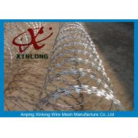 Quality Stainless Steel Razor Barbed Wire Mesh Fence 2.5mm Wire Diameter XLF-12 for sale