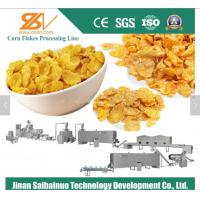 Quality Stable Automatic Corn Flakes Production Line 380 V 50 Hz 1 Year Warranty for sale