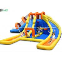 Quality Children Inflatable Water Jumping Castle Attractive Fire Retardant EN14960 for sale
