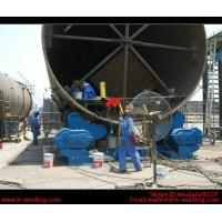 Quality Automatic Vessel Pipe Welding Rotator / Welding Roller Beds With Steel Roller for sale