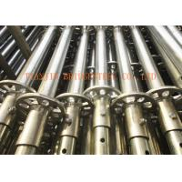 Buy Construction Steel Scaffold Tube / Frame Scaffolding, WT 2.4mm - 4.0mm SCH30, at wholesale prices