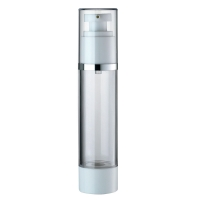 Quality JL-AB101 Round 15ml 30ml SAN AS Airless Pump Bottles for sale
