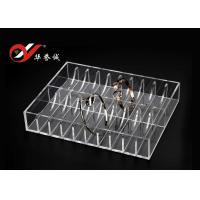 40 Bangles Exhibition Acrylic Jewelry Display Stand Clear Color Size Customized