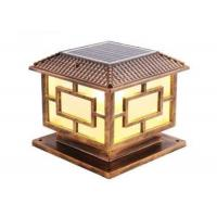 Quality Solar Energy Led Garden Lights Outdoor Household Stigma Waterproof Wall Lamp for sale