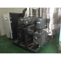 2200 m³/h Oil Sealed Vacuum Pump System for Coating JZ600-2H Model Green Color