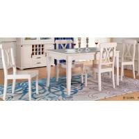 Quality Europe Contemporary Dining Room Furniture Solid Wood Frame 480 * 533 * 940 for sale