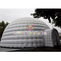 Quality Constantly Blowing Inflatable Party Tent With Digital Printing 7 Colors for sale